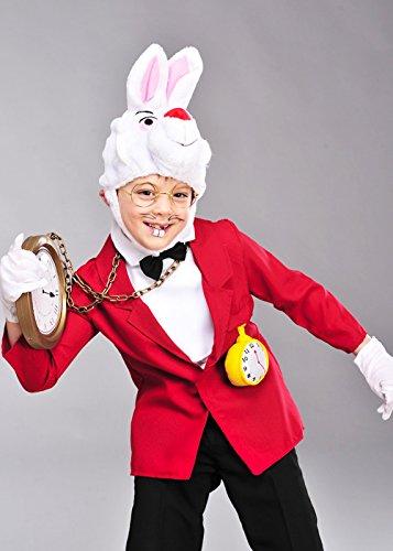 Magic Box Traje Blanco del Conejo del país de Las Maravillas de ...