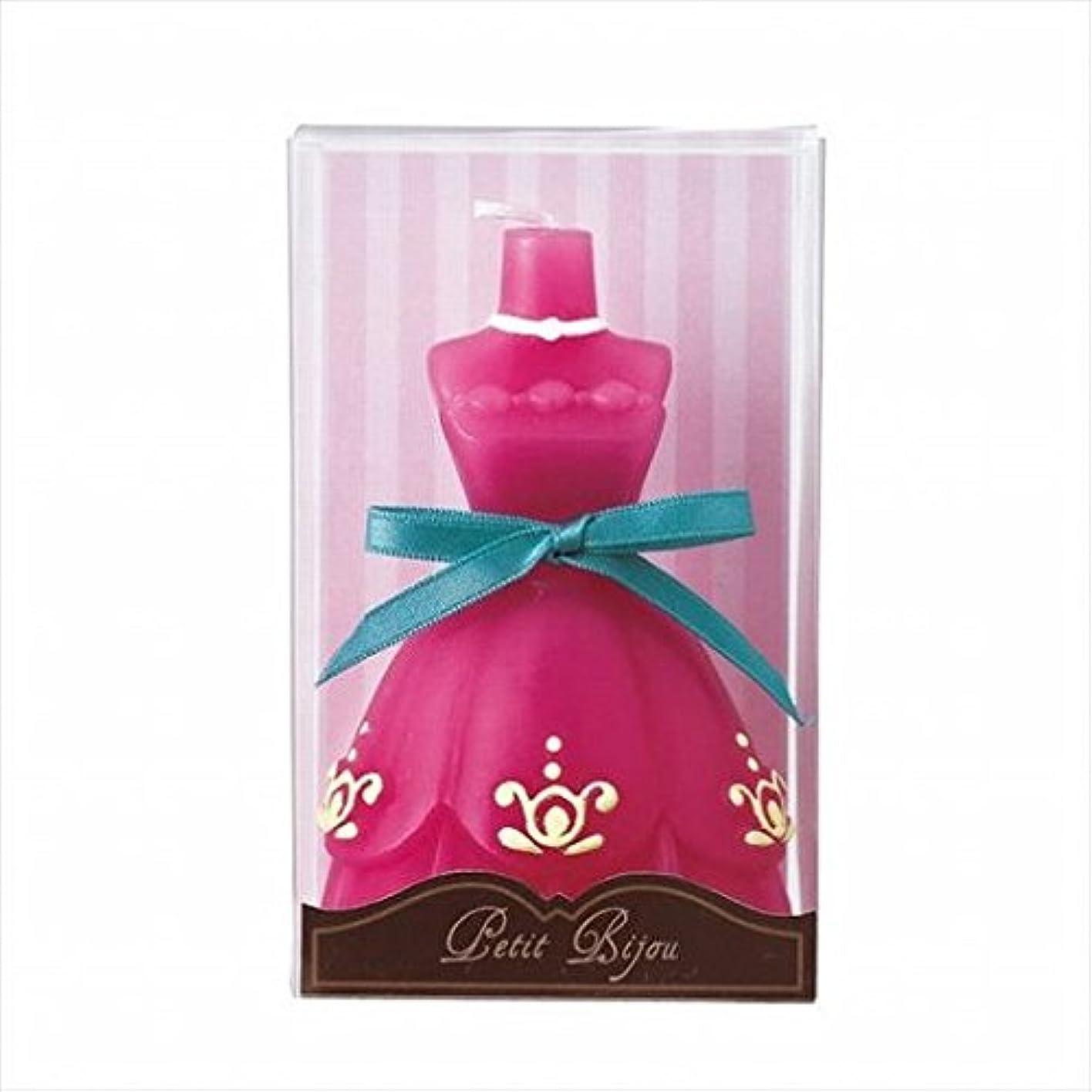 二度サイズ優遇kameyama candle(カメヤマキャンドル) ドレスキャンドル 「 ダークピンク 」(A6530500DP)