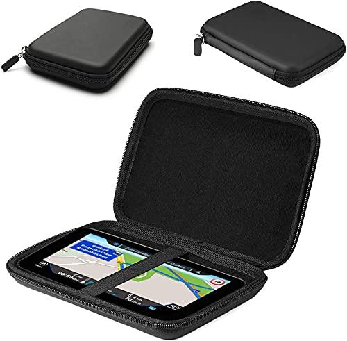 Navigation Tasche passend für Garmin Drive Smart 65 | GPS Schutz Case Hülle stoßsicher,robust und hart mit Trageriemen für Navigationsgeräte|1A Navi