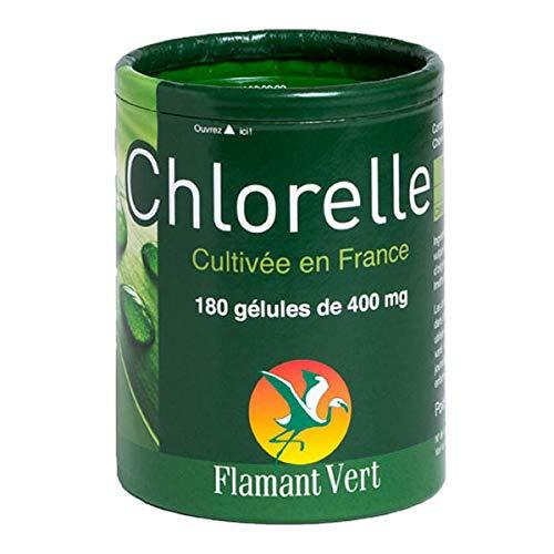 FLAMANT VERT - Chlorelle 400Mg 180 Gélules - Lot De 2