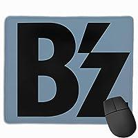 マウスパッド コンピュータマウスパッド B'z ビーズ ロゴ ゲーミングマウスパッド マウスマット おしゃれ 滑り止め デザイン 可愛い ラバーマット 厚くした 防水 男女兼用