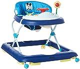 Hauck / Player / Trotteur Bebe Disney de 6 Mois à 12 kg / Marcheur avec Musique / Aide à la Marche avec Centre d'Éveil et Roues / Assise Rembourrée Amovible / Réglable en Hauteur / Mickey Blue (Bleu)