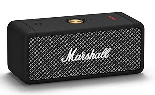Marshall Emberton Portable Bluetooth Speaker - Black,UK