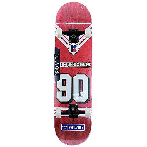 Plan B Skateboards Ryan Sheckler super roll Pro skateboard completo rosso 20,3cm