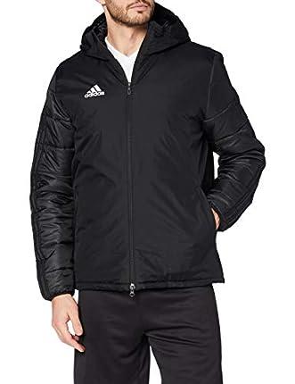 Adidas JKT18 WINT JKT Sport jacket, Hombre, Black/ White, 3XL