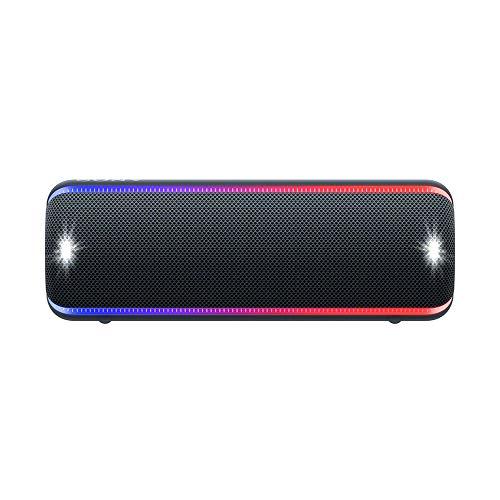 Sony SRS-XB32 Bocina Bluetooth portátil, resistente al agua y al polvo, luces de fiesta y audio fuerte…