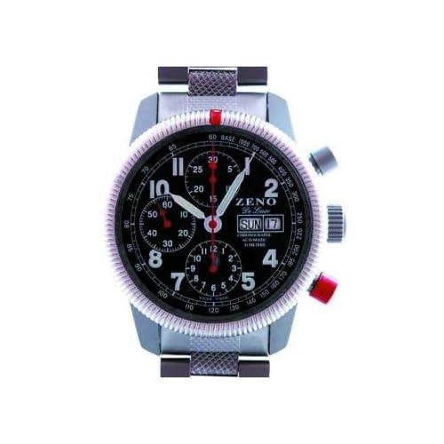Zeno Army Divers De Luxe Tri-Compax Chronograph Ref. 6559 A-SV-