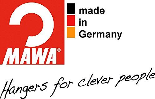 『マワ すべり落ちない MAWAハンガー スカート ズボン用 T型ボトム 10本組 ブラック 5012』の4枚目の画像