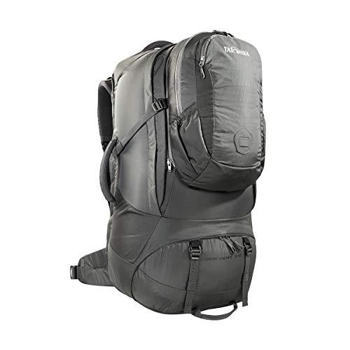 Tatonka Great Escape 75+10 - Reiserucksack mit abnehmbarem Daypack (10l) - für Herren und Damen - 85 Liter - 74 x 33 x 23 cm - Titan Grey