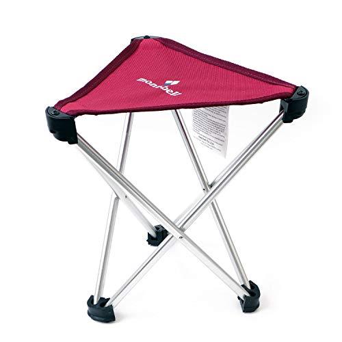 [モンベル] mont-bell トレールチェア 26 アウトドアチェア 超軽量 折りたたみ 座面高26cm 耐荷重80kg コンパクト キャンプ 椅子 (ルビー)