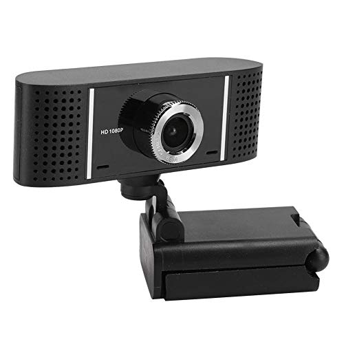 Sugoyi - Webcam HD, balance automático de blancos giratorio, sin unidad negra, para ordenador de sobremesa portátil
