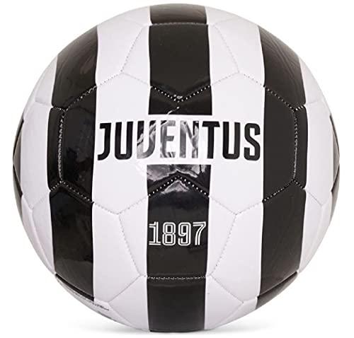Juve Ntus Turin Striped Ball (bianco/nero, 5)