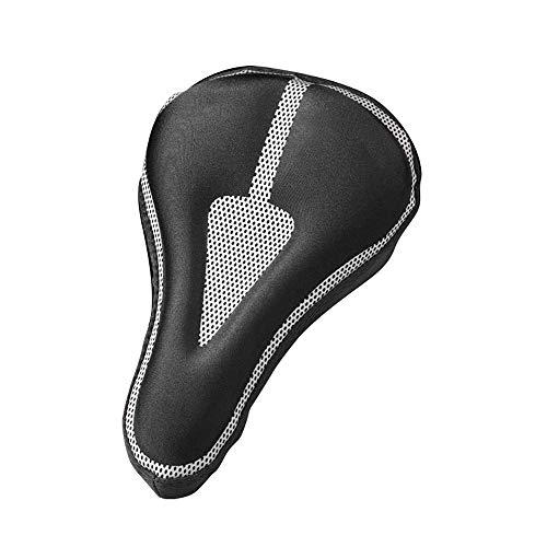 KUCONGST Cubierta de asiento de bicicleta de montaña Sillín acolchado Accesorios de bicicleta Unisex Shock-Absorbente diseño a prueba de