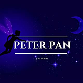 Peter Pan audiobook cover art