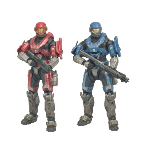 McFarlane Toys Halo Reach Series 1 Spartan Hazop Custom (Male) 2 Pack