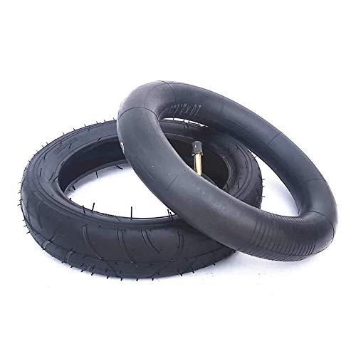 CHHD Neumáticos para Scooter eléctrico, neumáticos internos y externos de 10 Pulgadas, Antideslizantes y Resistentes al Desgaste, adecuados para carritos de bebé/Scooters, 260X55,10X2