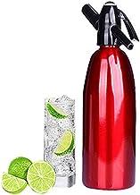 HENGGE Siphon Soda, Machine À Soda, Adapté pour Les Bars À La Maison, Les Cafés, Les Barmen À Faire des Cocktails Et De l'...