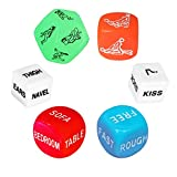 Funny Couple Dice Party Dice Love Dice, Romantic Gift for Valentine's Day,Hen Party, Honeymoon, Bacherette Party,Bridal Shower, Groom Roast, Wedding, Anniversary, Marriage