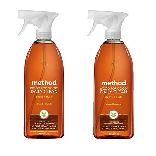 Method Daily Cleaner Spray, Wood For Good - 28 oz - 2 pk