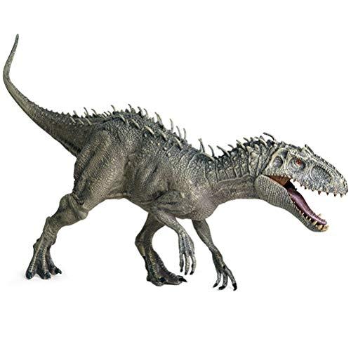 BSTQC Indominus Rex Jurassic World, plástico Dinosaurio de Juguete Figuras de acción Boca Abierta Dinosaurio Mundo Animales Modelo Chico Juguete Regalo