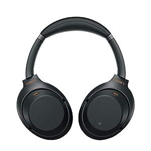 Sony WH1000XM3 Bluetooth Wireless Noise Canceling Headphones, Black WH-1000XM3/B (Renewed)