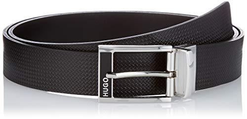 HUGO Gilbo_Gb35_PS Cinturón, Negro1, talla unica para Hombre
