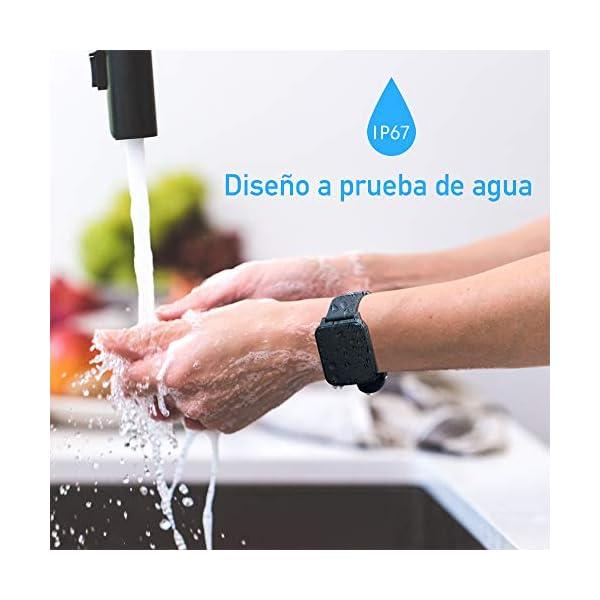 Sonkir Reloj Inteligente Pantalla táctil a Color de 1.3″, Monitor