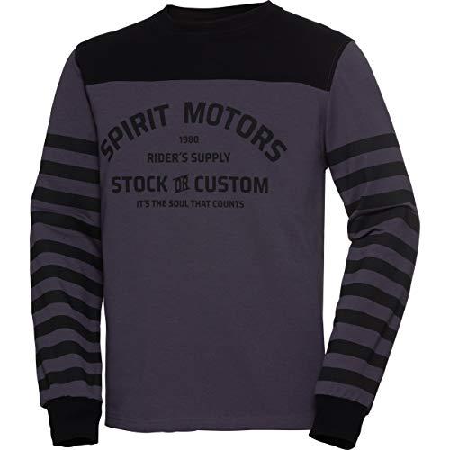 Spirit Motors Sweat Shirt Sweatshirt 1.0 Gris L, Hommes, Casual/Fashion, Toute l'année