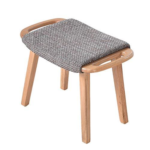 SJB Kruk Effen Hout Thuis Voet Kruk Sofa Kruk Seat Pedaal Korte Schoen Bench Slaapbank
