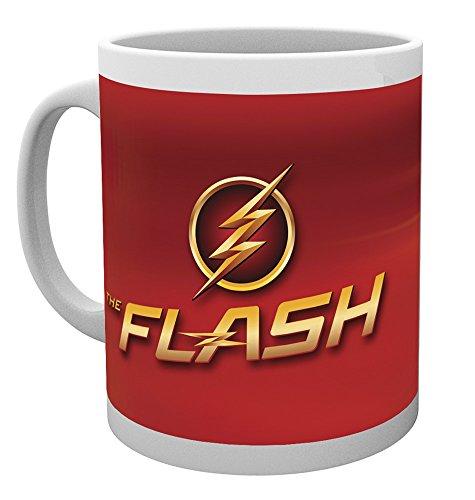 DC Comics The Flash Logo Becher, Mehrfarbig