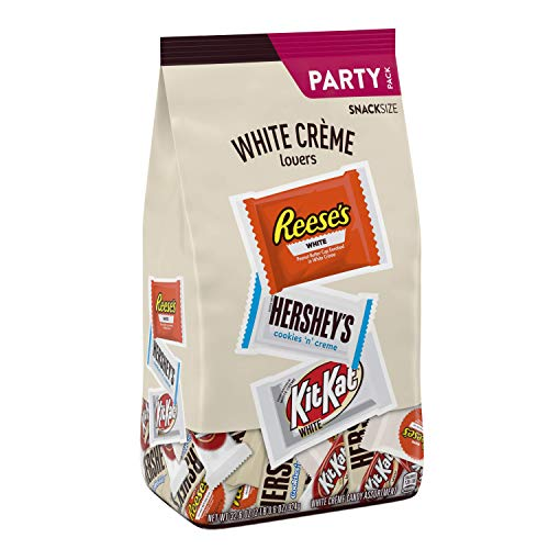 HERSHEY'S All Time Greats White Crème Valentines Candy Snack Size Assortment, 32.6 Ounce