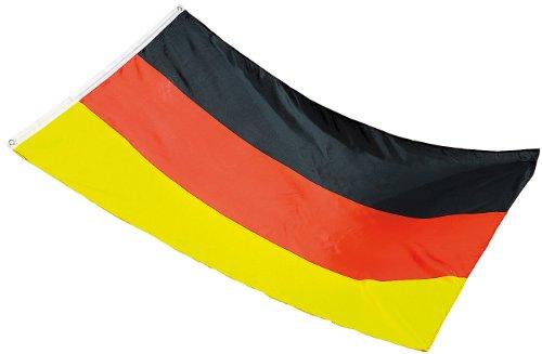 Unbekannt Pearl Fahne: Deutschlandfahne 150 x 90 cm aus reißfestem Polyester (Deutschlandflagge)