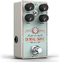 Donner Dumbal Drive Overdrive Guitar Pedal, Transparent Overdrive with 2 Band EQ Boost Effect Pure Analog True Bypass