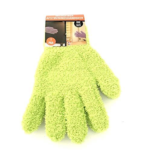 Tings Coral Velvet Gebreide Handschoenen Superzachte Microfiber Autodetailing Stofverwijderingshandschoenen Handschoenen Carwash Reinigingshandschoenen, GG