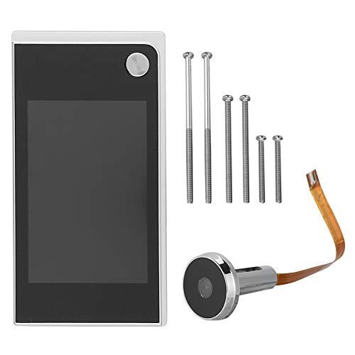 Cosiki Visor de Puerta eléctrico, Timbre de Video Inteligente para el hogar,...