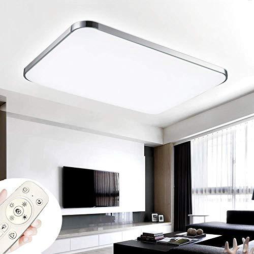 COOSNUG Luces de techo 72W Lámpara de techo ultradelgada