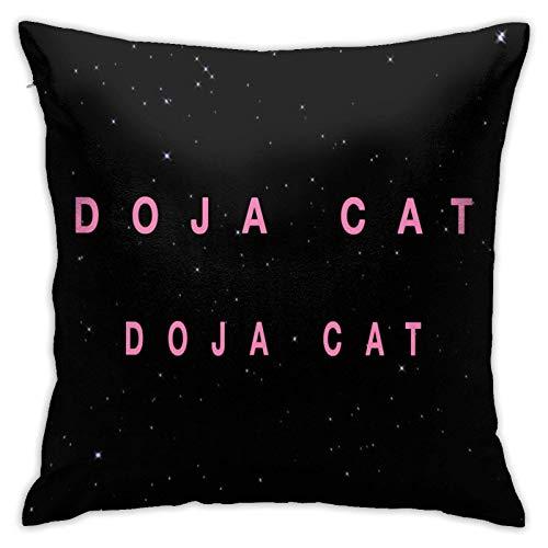 Doja Cat Pillowcase Microfiber Pillowcase Sofa Cover Decorative Pillowcase 18x18 inch