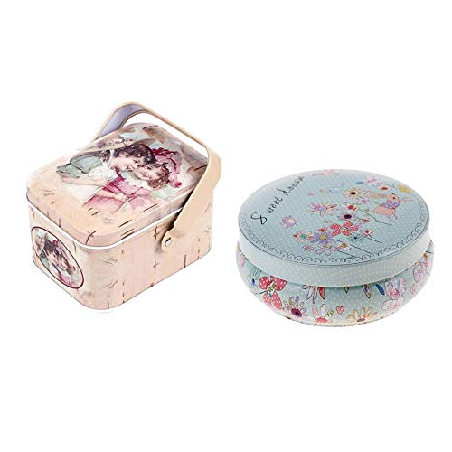 NewbieBoom Bijoux en métal Coins Holder Box Case et boîte de Bonbons Tin Box Gift Box Storage,1
