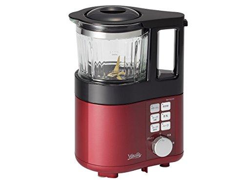 KOIZUMI Soup Maker'Vitalie' KSM-1010/R (Red)【Japan Domestic genuine products】