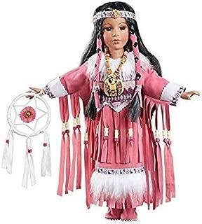 native american indian porcelain dolls