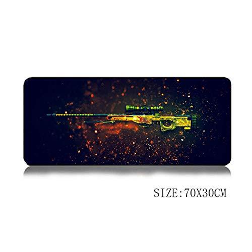 70 * 30Cm Mouse Pad XL Große Grande Mouse Pad Gamer Beste Maus Mat Gun AWP Dragon Lore Ak47 M4A1 Für Rainbow Six, 1