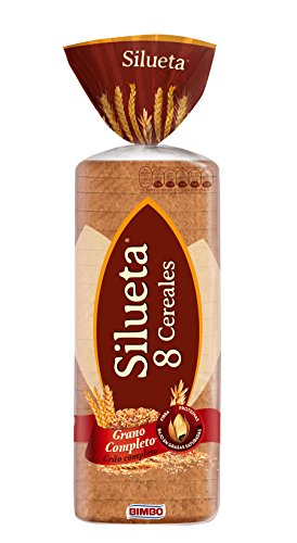 Silueta - Pan de Molde Integral 8 Cereales 24 Rebanadas, 650 g