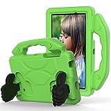 AHUOZ Funda para tablet Samsung Galaxy TAB 4 7.0'' T230/T231 Tablet Case para niños a prueba de golpes, ligera, EVA a prueba de golpes, resistente al impacto, funda protectora con mango (color: verde)