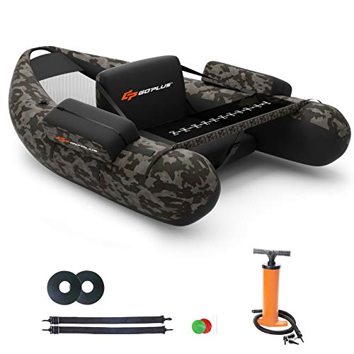 Goplus Inflatable Fishing Float Tube Review