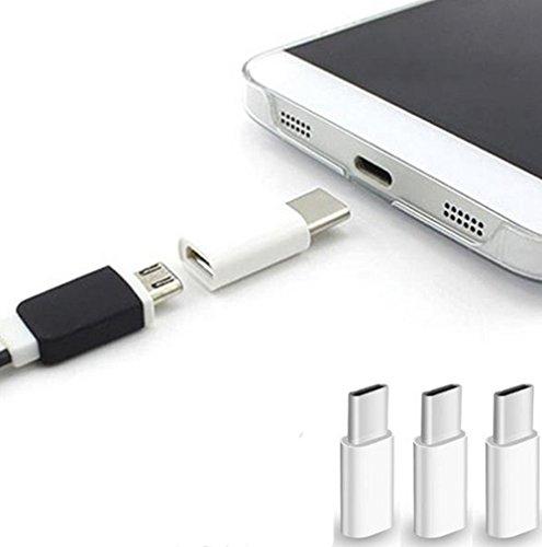 Lumanuby 3 unidades USB tipo C 3.1 OTG adaptador para OnePlus 2/12 pulgadas MacBook/Nexus 6P 5X