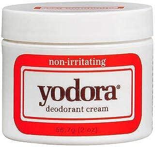 Yodora Deodorant Cream, non-irritating - 2 oz, Pack of 5