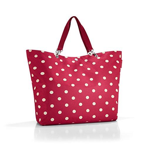 Reisenthel ZU3014 Shopper XL - Borsa da shopping, misura XL: 68 x 45,5 x 20 cm, colore: Rosso a pois