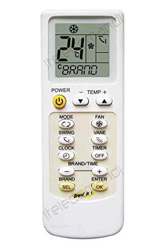 Telecomando condizionatore climatizzatore pompa di calore, inverter, compatibile