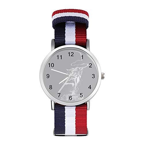 Breaking Bad Heisenberg Smoke Walter White Winnebago Freizeit Armband Uhren Geflochtene Uhr mit Skala
