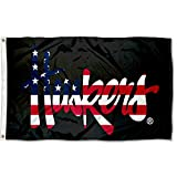 College Flags & Banners Co. Nebraska Cornhuskers Patriotic Flag